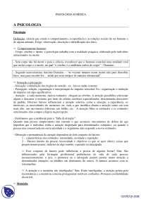 Psicologia - notas - Sociologia