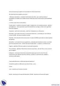 Lista Microbiologia Básica - Exercicios - Biologia