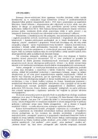 Historia awangardy - Notatki - Historia literatury polskiej