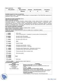 Plan rada-Beleska-Etika-Socijalna politika i socijalni rad