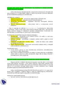 Edukacja zdrowotna - Notatki - Edukacja zdrowotna - Część 1