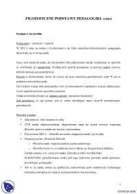 Filozoficzne podstawy pedagogiki - Notatki - Filozoficzne podstawy pedagogiki - Część 1