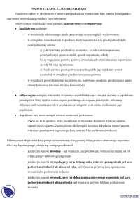 Nadzwyczajne złagodzenie kary - Notatki - Prawo karne