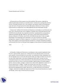 Floresta Amazônica de Terra Firme - Apostilas - Engenharia Ambiental