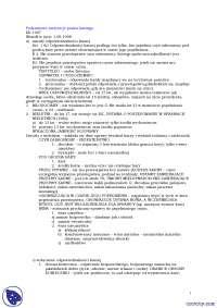 Podstawowe instytucje prawa karnego - Notatki - Prawo karne