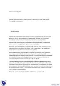 Separação de compostos orgânicos - Apostilas - Engenharia Quimica