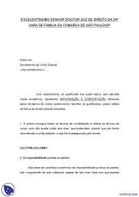 Impugnação  Contestação - Apostilas - Pratica Civil