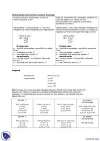 Interpretacja ekonomiczna zadania dualnego - Notatki - Badania operacyjne