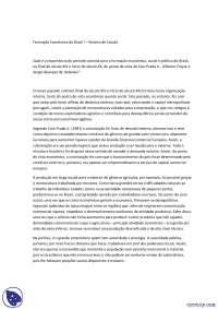 Formação Econômica do Brasil - Apostilas - História