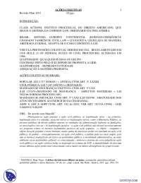 Ações Coletivas - Apostilas - Direito Difuso e Coletivo