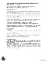 Legitimidade - Apostilas - Direito Difuso e Coletivo