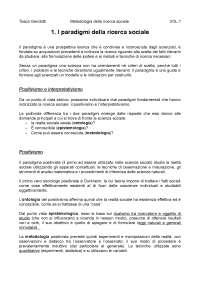 la ricerca sociale Corbetta vol1