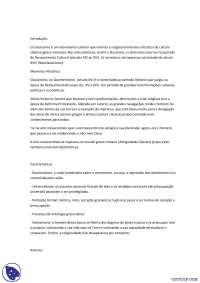 Classicismo - Apostilas - Artes Cênicas
