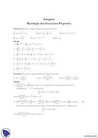 Exercicios integrais - Exercícios - Matemática_Parte1