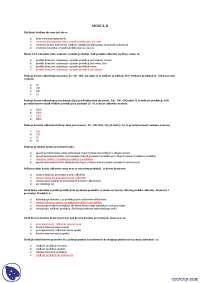 Pytania egzaminacyjne moduł 2 - Notatki - Ekonomia