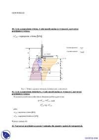 Naprężenia wtórne - Notatki - Mechanika gruntów