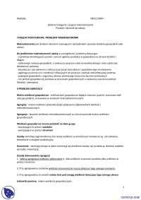 Główne kategorie i pojęcia makroekonomii - Notatki - Ekonomia