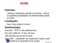 Dermatologia - Apostilas - acne
