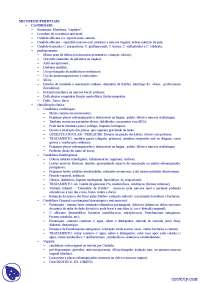Dermatologia - Apostilas - micoses superficiais e dermatofitoses