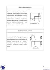 Rysunek techniczny - Notatki - Inżynieria - Część 3