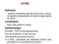 Dermatologia - Apostilas - acne_Parte1
