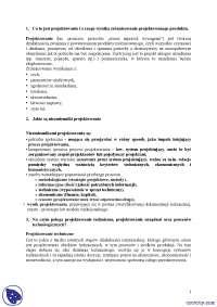 Pytania egzaminacyjne PPI  - Notatki - Inżynieria