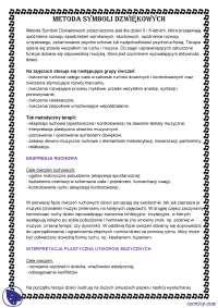 Metoda symboli dźwiękowych - Notatki - Pedagogika