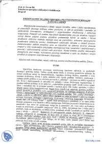 Kriminalitet mladih i reforma pravno-institucionalne zastite u Srbiji-Skripta-Drustvene devijacije-Defektologija
