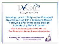2012-DVCon_SystemVerilog-2012_presentation