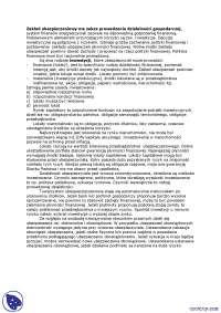 Zakład ubezpieczeniowy ma zakaz prowadzenia działalności gospodarczej - Notatki - Ubezpieczenia i ryzyko