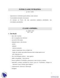 Anfíbios - Apostilas - Biologia