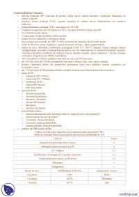 Tromboembolismo pulmonar - Apostilas - Pneumologia