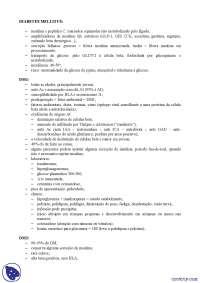 Endocrinologia - Apostilas - diabetes
