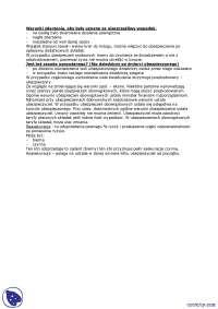 Warunki zdarzenia, aby były uznane za nieszczęśliwy wypadek - Notatki - Ubezpieczenia i ryzyko