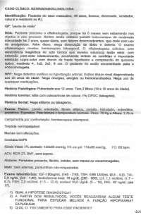 Endocrinologia - caso clínico de neuroendocrinologia
