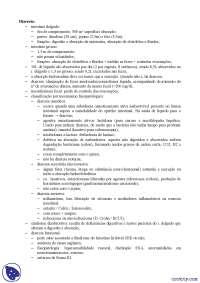 Diarreia - Apostilas - Gastroenterologia