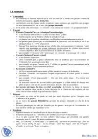LA PROSODIE-Beleska-Fonetika francuskog jezika-Francuski jezik i knjizevnost