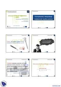 Analiza wyników pomiarów  - Notatki - Metrologia - Część 1
