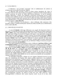 Super compendio di diritto fallimentare - Appunti - Diritto fallimentare