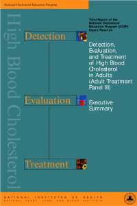 Detection Evaluation and Treatment of High Blood Cholesterol-Skripta-Faktori rizika za kardiovaskularne bolesti-Farmacija