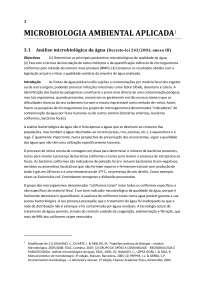 Microbiologia ambiental aplicada - Apostilas - Ciências Biologicas