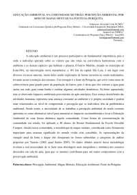 Educação ambiental na comunidade Mutirão - Apostilas -Ciência da Natureza