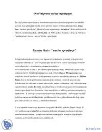 Osnovni pravci teorije organizacije-skripta-Politicke nauke