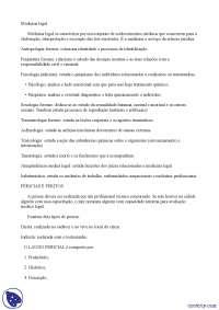 Conceitos - Apostilas - medicina legal