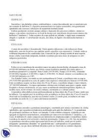 Sarcoidose - Apostilas - patologia