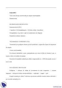 Sarampo - Apostilas - microbiologia