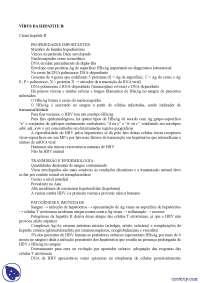 Hepatite B - Apostilas - microbiologia