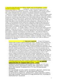 Historia edukacji, pytania - Notatki - Historia wychowania
