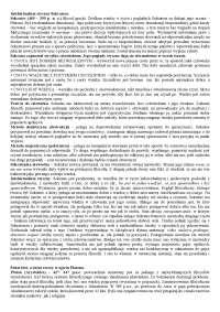 Intelektualizm etyczny Sokratesa - Notatki - Filozofia