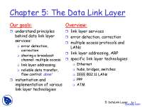 Data Link Layer - Computer Networks - Lecture Slides